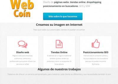 Diseño Web Coín – Página diseñada en HTML5
