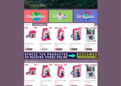 Productos Valle del Guadalhorce con Prestashop 1.6
