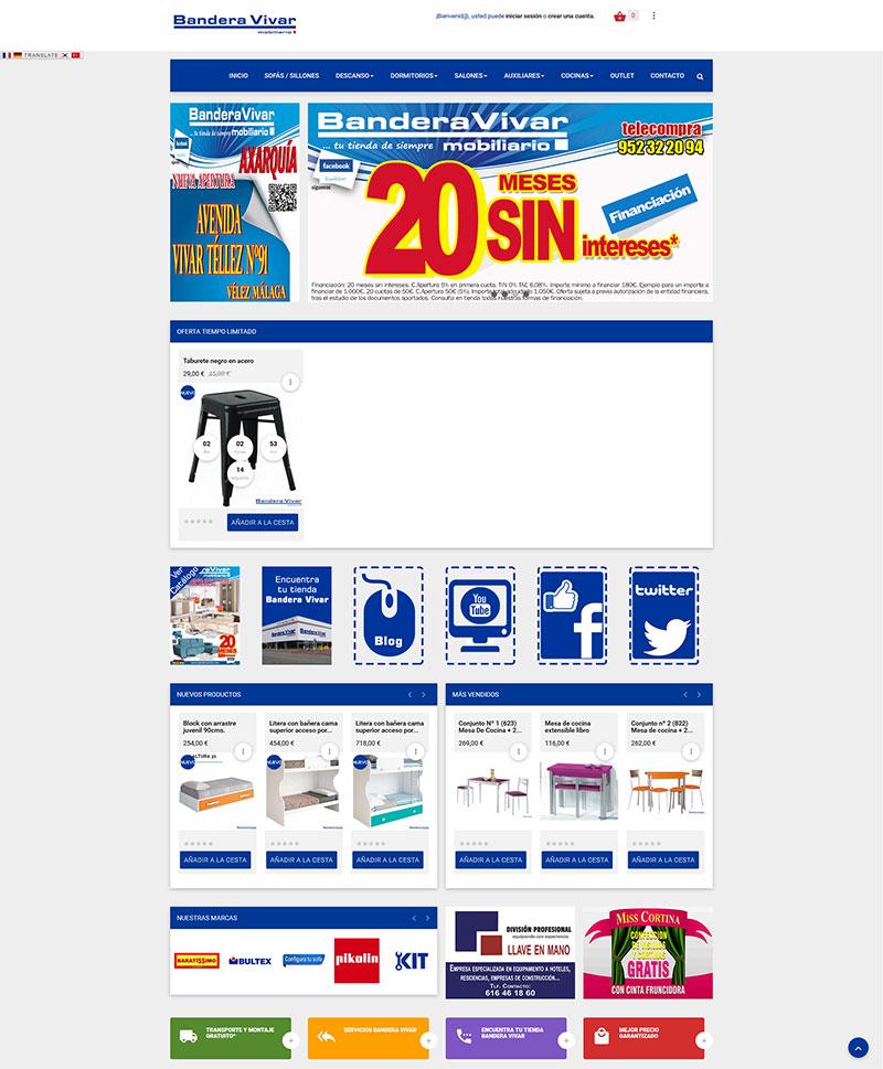 Dise o web de tienda de muebles con prestashop 1 6 - Muebles yecla catalogo ...