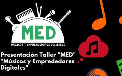 Taller MED para músicos y emprendedores digitales en Málaga